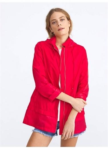 Xint Yağmurluk Kırmızı